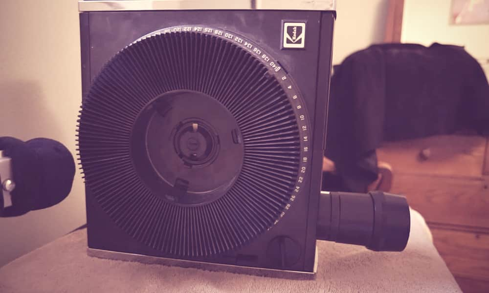 Slide Projector Sound Effects