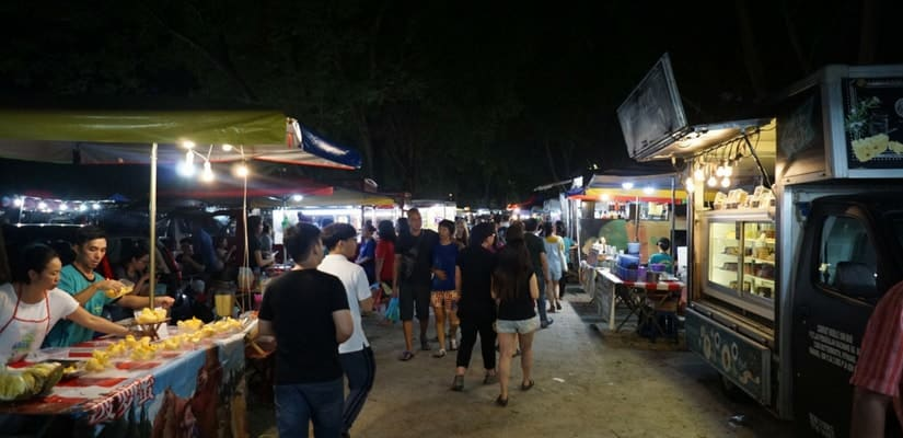 Malaysia Night Market Sound Effects
