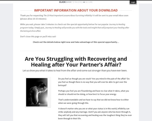 Survive, Heal And Thrive After Infidelity try it free