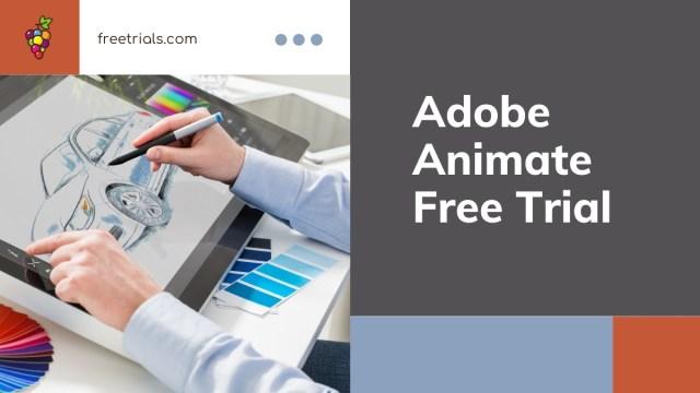 Adobe Animate Free Trial Header