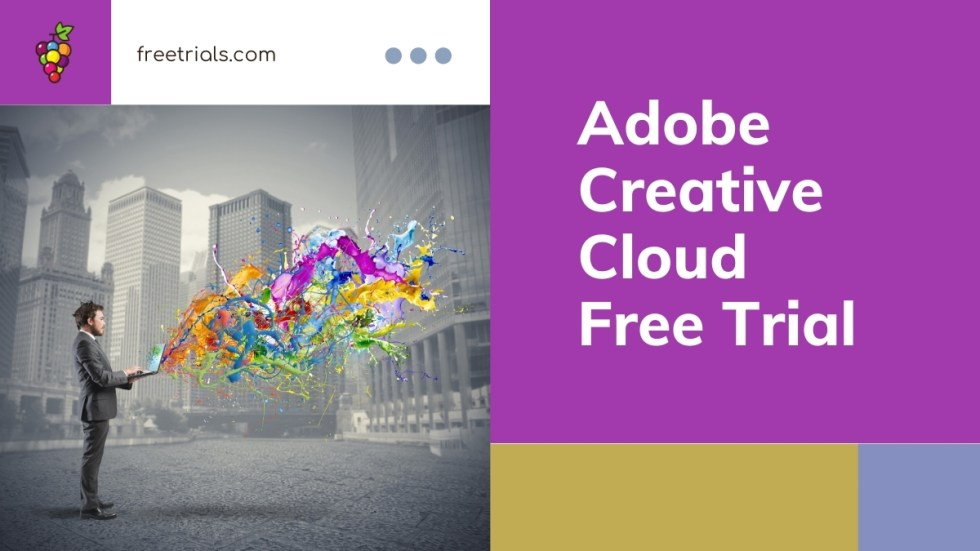 Adobe Creative Cloud Free Trial Header