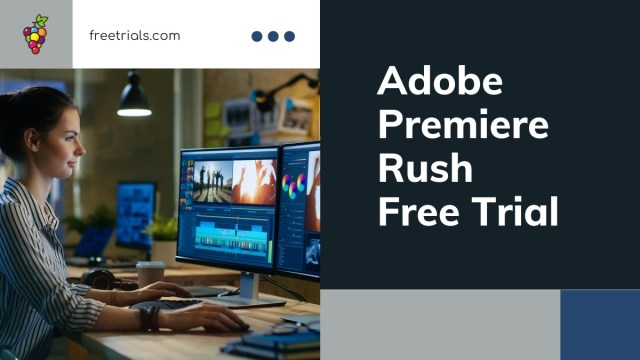 Adobe Premiere Rush Free Trial Header Image