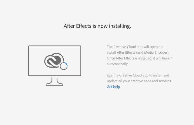 Install Adobe After Effects