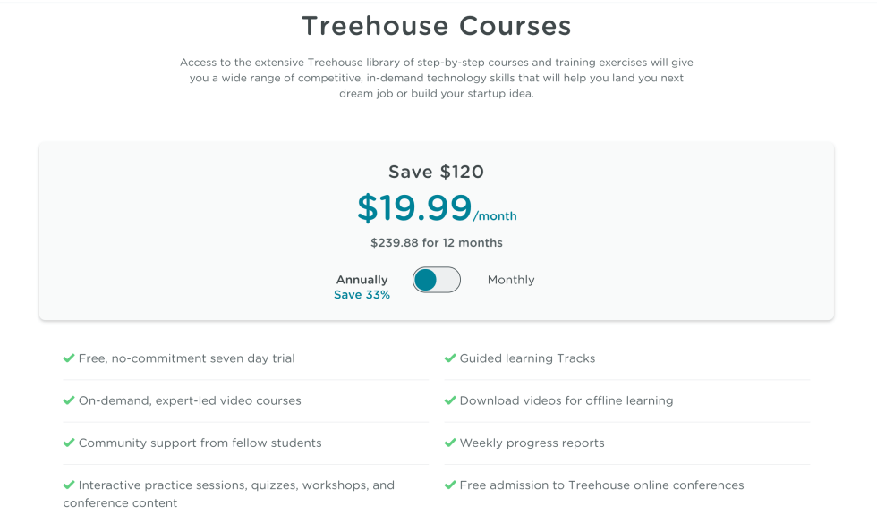 Benefits of TeamTreehouse