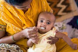 solid food infant