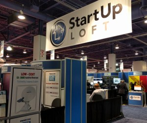 StartUpLoft banner at the NAB Show