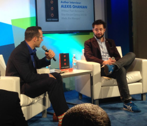 Alexis Ohanian talking at CES
