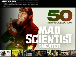 Mill Creek 50 Movie Collection: Mad Scientist Theater