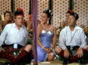 Bob Hope, Dorothy Lamour, and Bing Crosby