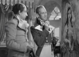 Leslie Howard as the Scarlet Pimpernel