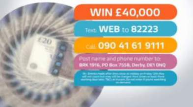 Good Morning Britain Competition £40,000