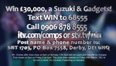Saturday Night Takeaway Suzuki competition