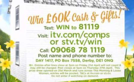 Loose Women Competition £60,000 Prize Draw