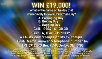 Tipping Point Competition £19,000 prize entry details
