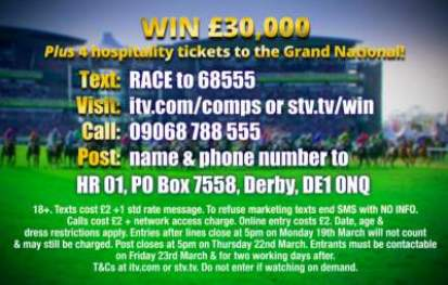 Grand National competition ITV