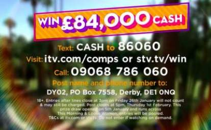Loose Women Competition £84,000