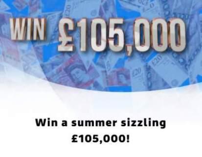 Lorraine Competition £105,000 cash prize draw 2018