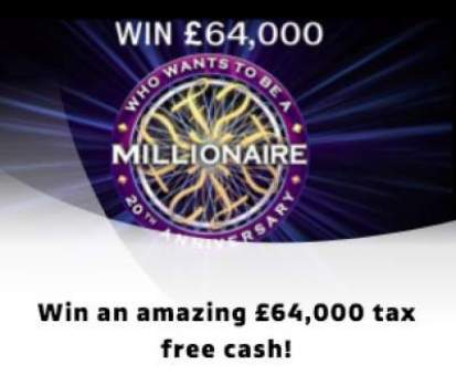 Who Wants To Be a Millionaire? Competition 2018