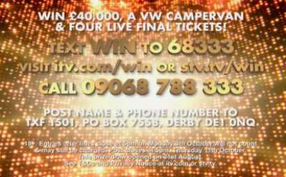 X-Factor Campervan Competition 2018