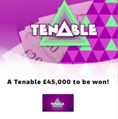 Tenable ITV Prize Draw £45,000