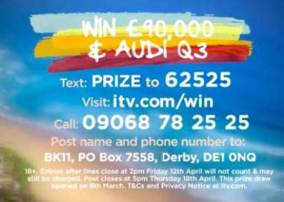 Good Morning Britain Audi Competition