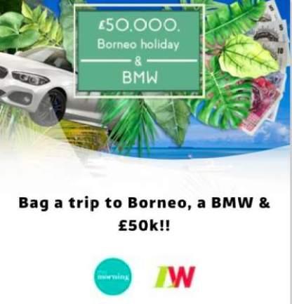 Loose Women Borneo Competition ITV