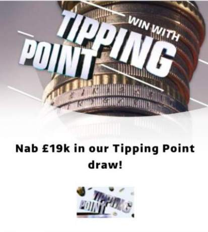 ITV Tipping Point Prize £19,000