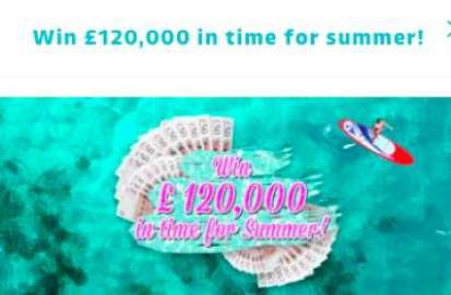 Lorraine £120,000 prize ITV entry details
