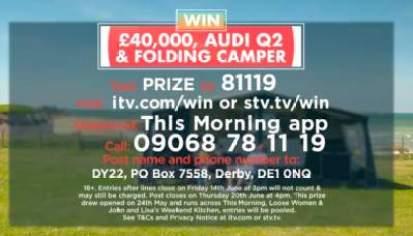 This Morning Audi Prize ITV