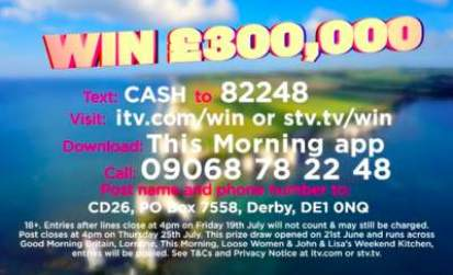 ITV £300K Prize