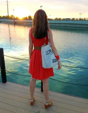 Coral Dress 7