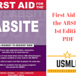 Download First Aid for the ABSITE 1st Edition PDF Free