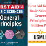 Download First Aid for the Basic Sciences General Principles 3rd Edition PDF Free