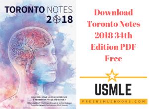 Download Toronto Notes 2018 34th Edition PDF Free