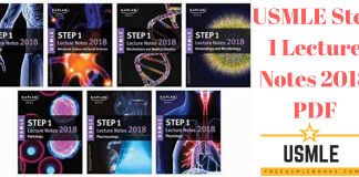 Download USMLE Step 1 Lecture Notes 2018 PDF Free