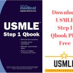 Download USMLE Step 1 Qbook PDF Free