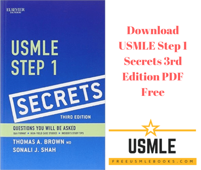 Download USMLE Step 1 Secrets 3rd Edition PDF Free