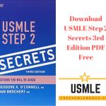 Download USMLE Step 2 Secrets 3rd Edition PDF Free