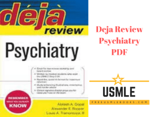 Download Deja Review Psychiatry PDF Free