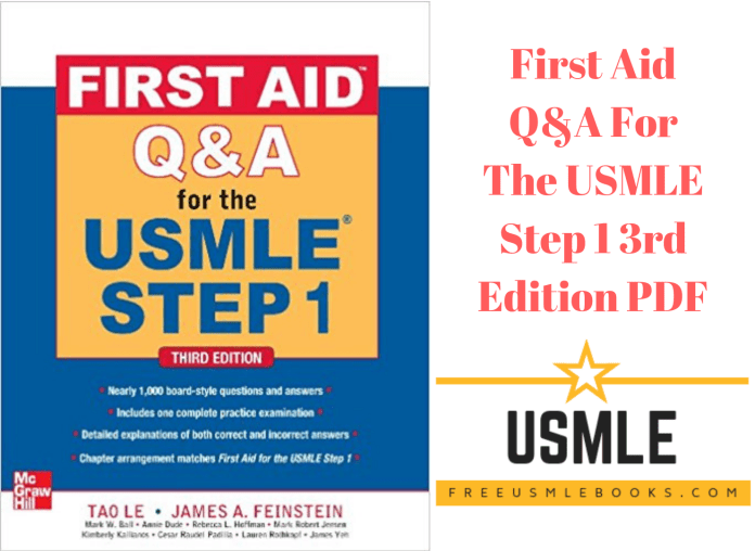 Download First Aid Q&A For The USMLE Step 1 3rd Edition PDF Free