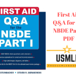 Download First Aid Q&A for the NBDE Part I PDF Free