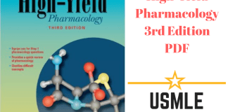 Download High-Yield Pharmacology 3rd Edition PDF Free