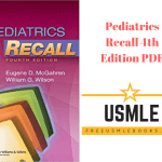 Download Pediatrics Recall 4th Edition PDF Free