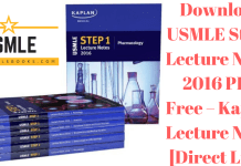 Download USMLE Step 1 Lecture Notes 2016 PDF