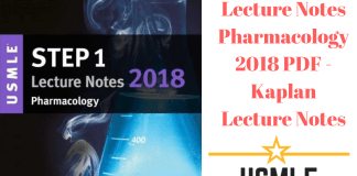 Download USMLE Step 1 Lecture Notes Pharmacology 2018 PDF Free