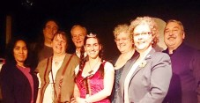 FVP Authors on Stage at Release Party 2014