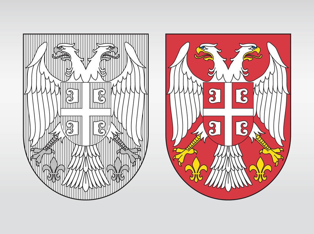 Coat Arms Shield Designs