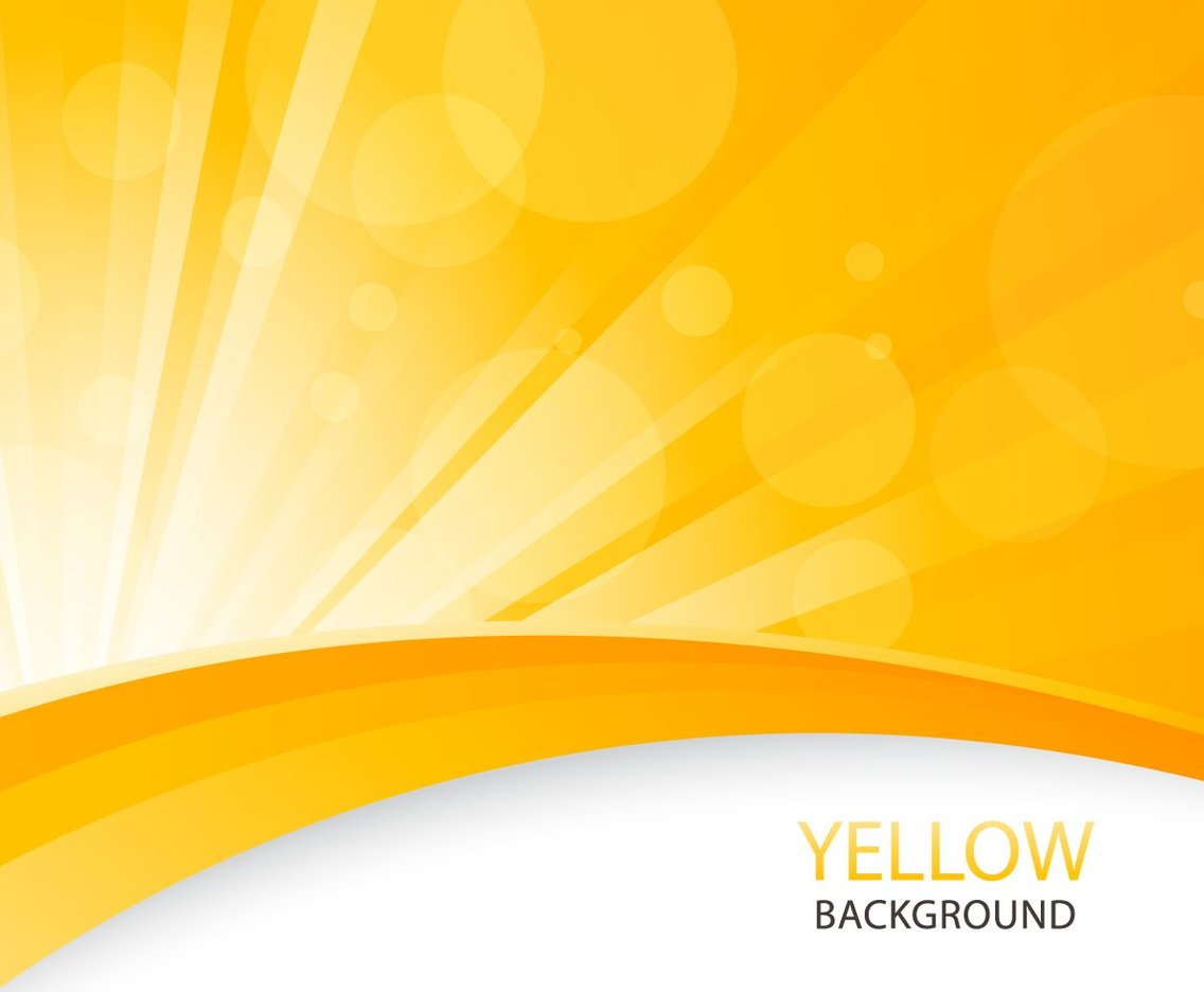 Yellow Abstract Background Vector Art & Graphics
