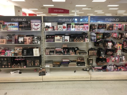 The makeup section is not small. Because T.J. Maxx gets new items everyday, it is good to check back. I usually stop by when I see a good find on Instagram under the #tjmaxxfinds tag. (Photo by Kristin Guglietti)