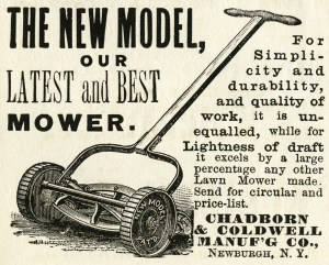 vintage garden lawnmower ad 01
